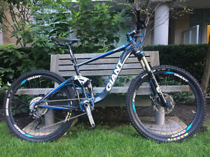 Full-Suspension Mountain Bike - Giant Trance X2