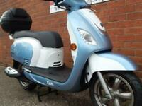 SYM FIDDLE 3 125 SCOOTER WITH FINANCE FROM JUST £100 DEPOSIT