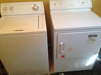 Whirlpool Washer & Moffat Dryer For Sale! - $200 Total