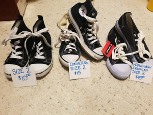 variety of dance and street shoes
