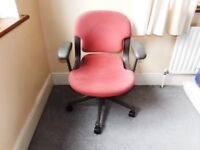 Office chair (with gas lift height adjustment)
