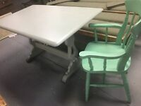 Beautiful painted Ercol dining table