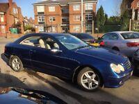 Mercedes CLK CLK200 Kompressor Avantgarde (blue metallic) 2002