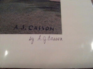 """A.J. Casson Limited Edition """"Approaching Thunderstorm"""" Cambridge Kitchener Area image 4"""