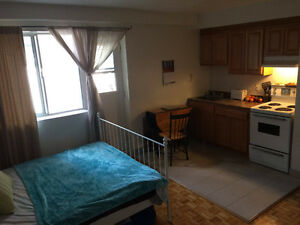 Downtown Studio $560 per month June1st to end August- Furnished