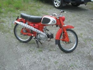 ATTENTION COLLECTIONNEURS HONDA MODELE 50 TRES TRES RARE