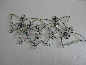 Brand new with tags Ganz hanging metal butterfly decor London Ontario image 3
