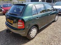 Skoda Fabia 1.9 SDI Classic, Mot October, Drives Good, Great MPG