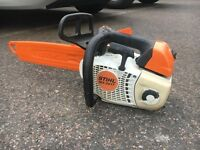 Stihl ms 201 t 201t topping tree climbing chainsaw