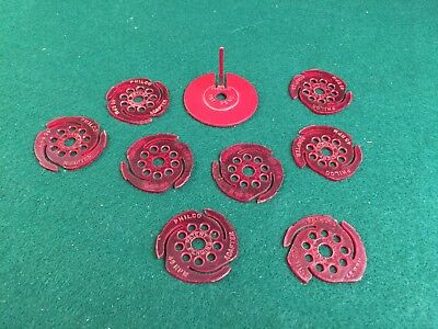 Vintage PHILCO 45 RPM Record Adapters