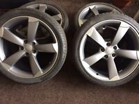 Brand New Audi S4 S5 Black Edition Rotor Wheels