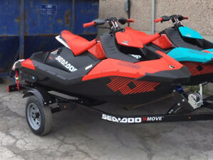 Sea Doo Spark Trixx with Move 2 Trailer