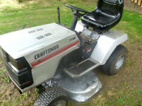 Craftsman Riding Tractor, Great Condition, Must Be Seen.