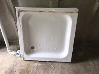 Shower tray and enclosure