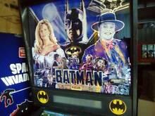 Arcade pinball BATMAN by Data East - Collectable! Brisbane Region Preview