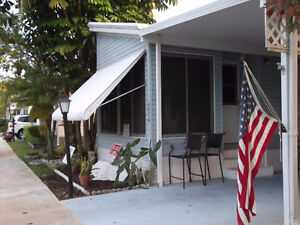 Must SELL Fast 2 b/r Modular in Senior Park, So. Fla. Coconut Cr