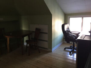 2 rooms: (office and bedrooms) for Sept or May  (2min from Dal)
