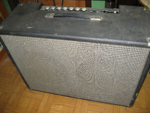 1960s model H100-TR guitar tube amp