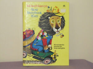 Richard Scarry's Best Storybook Ever hc 1995 Golden Books 82 Sto