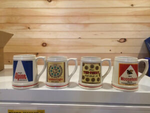 Moosehead beer mugs