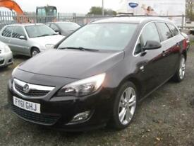 """image for 2011/61 VAUXHALL ASTRA ESTATE 2.0 CDTI SRI in BLACK """" ONLY £2995 """""""