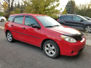 2007 Toyota Matrix Base for sale No Rust, No Accidents, Low Kms