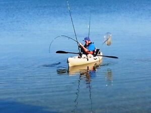 New Volador Angler Fishing Kayak w/Paddle, Dlx Seat & Delivery