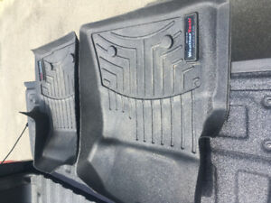 09-14 Ford F-150 Supercrew Weathertec Mats