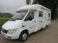 Pilote PACIFIC 72, 4 BERTH LUXURY MOTORHOME