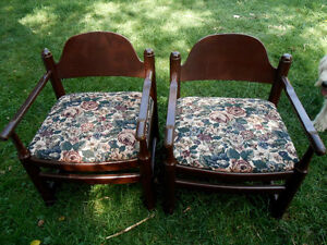 sturdy solid wooden chairs for sale Peterborough Peterborough Area image 1