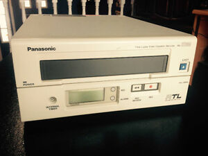 Panasonic commercial surveillance time lapse VCR