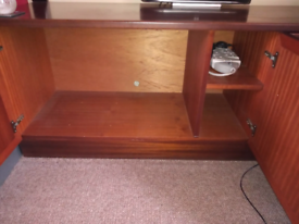Tv cabinet for collection only.