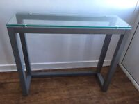 Console table and tv stand from the NEXT Brooklyn range