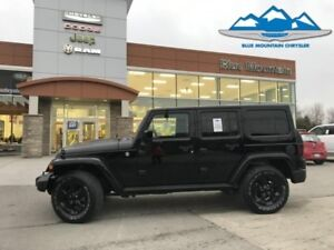 2015 Jeep Wrangler Unlimited Sahara  ACCIDENT FREE, LOCAL TRADE,