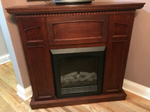 Electric Fireplace (corner or straight unit)