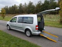 2010 Volkswagen Caddy 1.9 TDI Auto Automatic WHEELCHAIR DISABLED ACCESSIBLE WAV