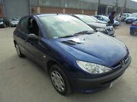 Peugeot 206 1.1 8v S 5 DOOR - 2004 04-REG - 10 MONTHS MOT