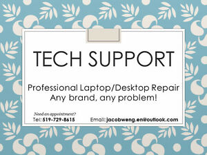 Professional Desktop/Laptop Repairs and Custom Builds