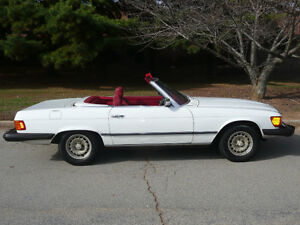 1978 Mercedes 450SL Convertible