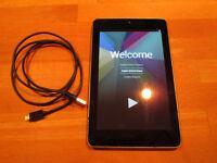 Tablette Nexus 7 prête pour usage personnel