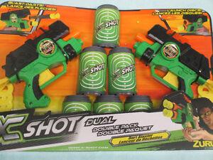 X shot dual double pack dart blaster