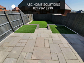 Paving Fencing Artificial grass Turf Landscaping