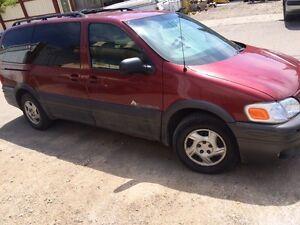 2002 Pontiac Montana 800.00 OBO