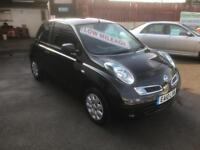 2010/10 Nissan Micra 1.2 16v (79bhp) Visia 3dr ONLY 38536 Miles NOW £2995