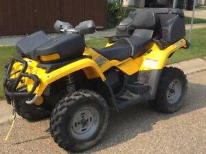 ***UNIQUE ATV/QUAD—ONE OWNER, EXCELLENT CONDITION, LOW KMS***