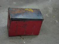 International Harvester 460 battery box