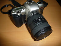 The Pentax ZX-7 & SIGMA 28-105 mm lens for sale