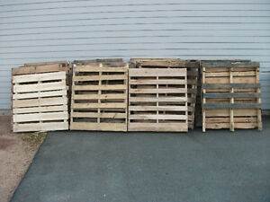 FREE wooden pallets.