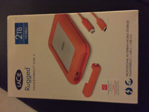 Lacie external hard drive. Never opened!