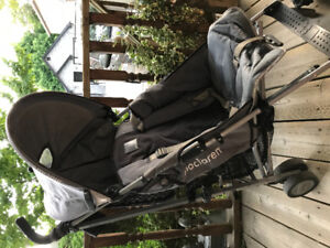Maclaren Stroller with many add ons
